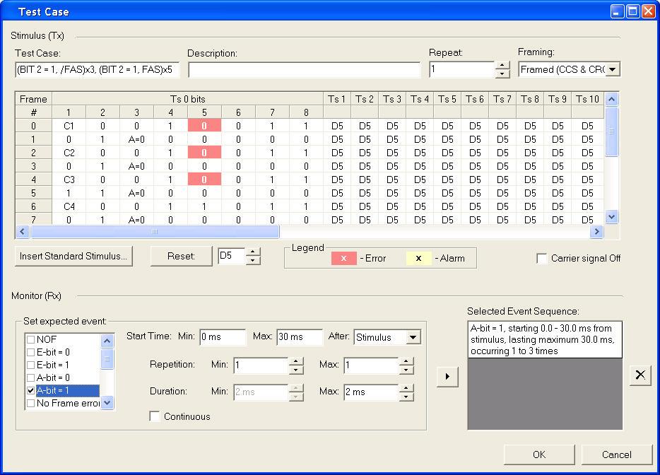 Frame-Analysis-Test-Procedure